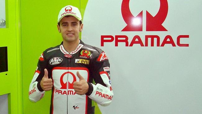 Hector Barbera ha firmato per il team Pramac