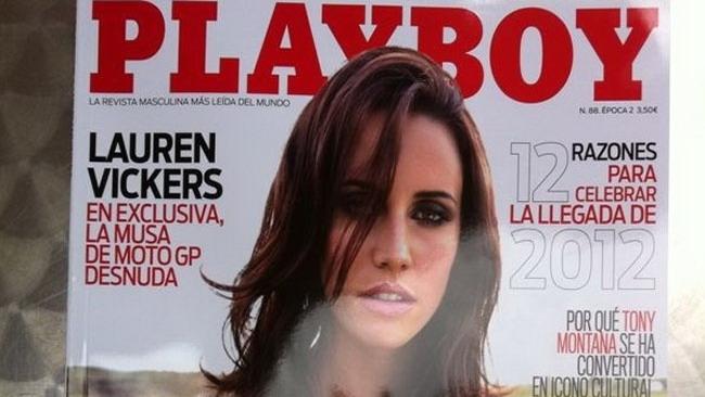 La fidanzata di De Puniet sulla copertina di Playboy!
