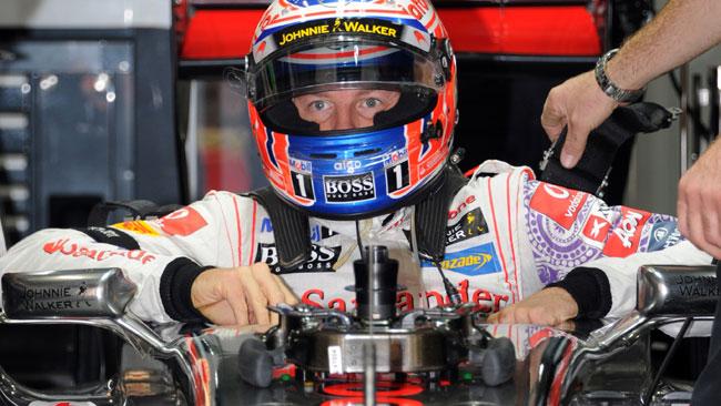 Button porterà al debutto la McLaren MP4-27 a Jerez