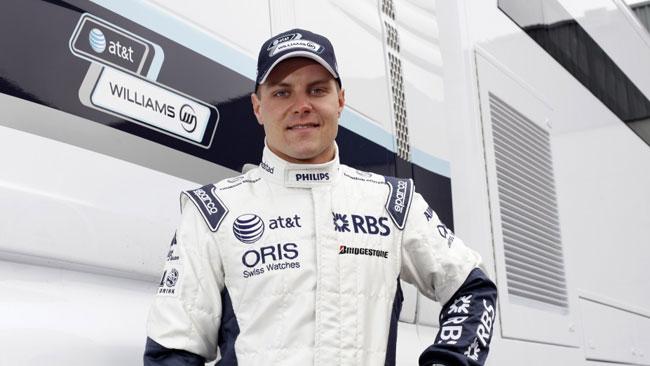 Shakedown con Bottas per la Williams FW34