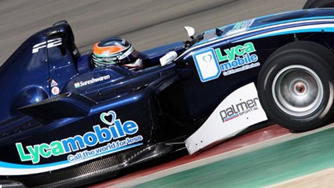 Sureshwaren continua in Formula 2 nel 2012