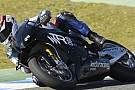 Primi passi per la Ioda TR003-Aprilia a Jerez