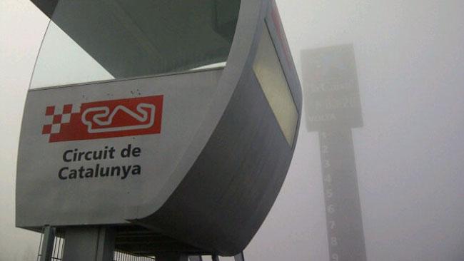 Barcellona, Day 2, Ore 10: la nebbia rallenta i lavori