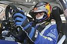 Primo test con la Polo WRC definitiva per Sainz