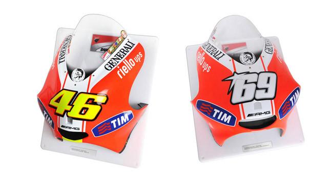 All'asta su eBay i cupolini di Valentino e Hayden