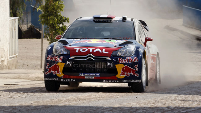 Messico, PS12: Loeb in vetta a fine prima tappa