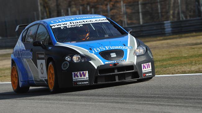 Monje conquista la pole position a Monza