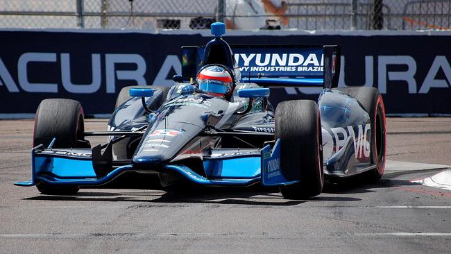 Barrichello a secco, ma divertito dal suo esordio