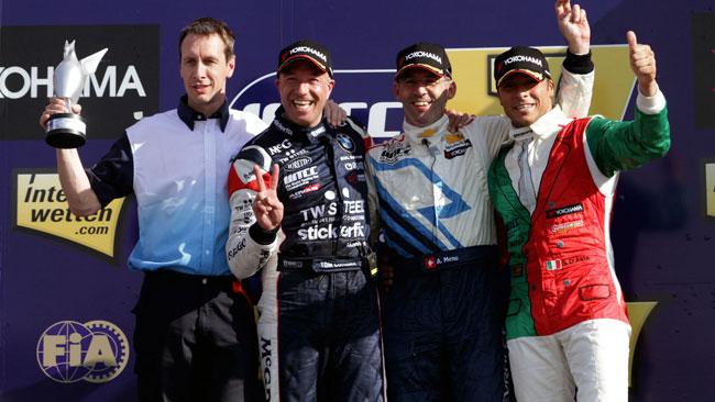 D'Aste sul podio assoluto del WTCC a Valencia