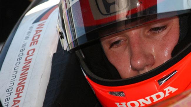 Wade Cunningham con Foyt alla Indy 500