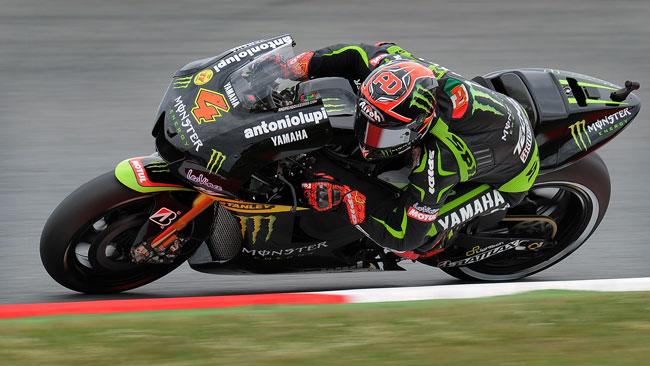 Andrea Dovizioso si gode il primo podio in Yamaha