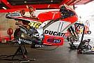 Test Aragon: un problema tecnico rallenta Valentino
