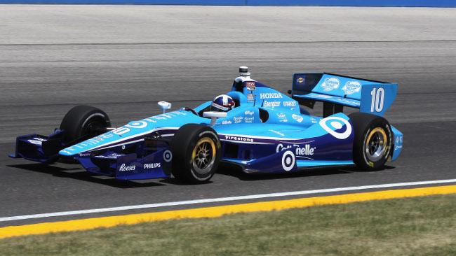 Pole position per Dario Franchitti a Milwaukee