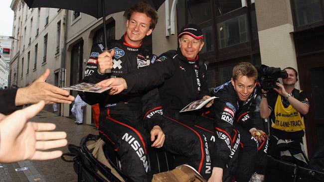 I due Brundle di nuovo insieme anche a Silverstone