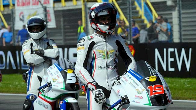 Il Team Italia FMI pronto per il Sachsenring
