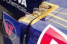 Toro Rosso: le pinne diventano trasparenti!
