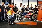 KTM presenta la moto clienti per la classe Moto3
