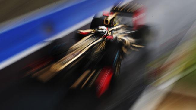 La Lotus sperimenta il doppio DRS sulla E20!