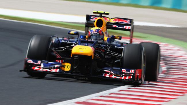 Hungaroring, Libere 3: Webber risveglia la Red Bull
