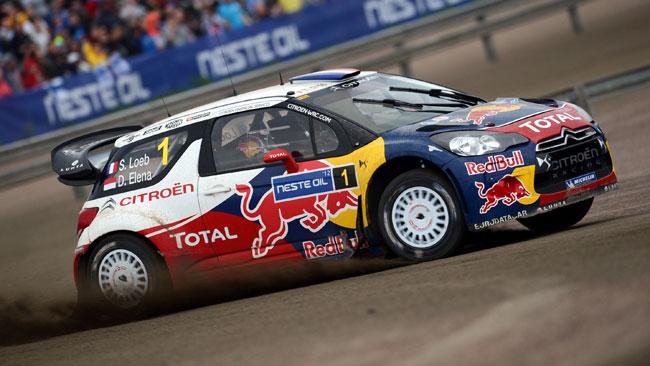 Loeb contiene Hirvonen e vince il Rally di Finlandia