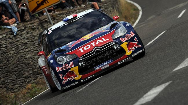 Nono centro nel Rally di Germania per Loeb!