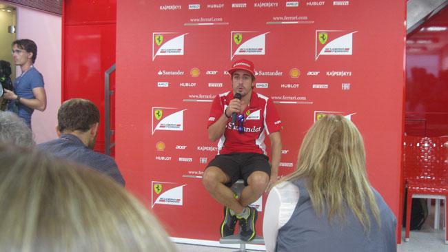 Alonso ci crede nonostante le rotture della Rossa