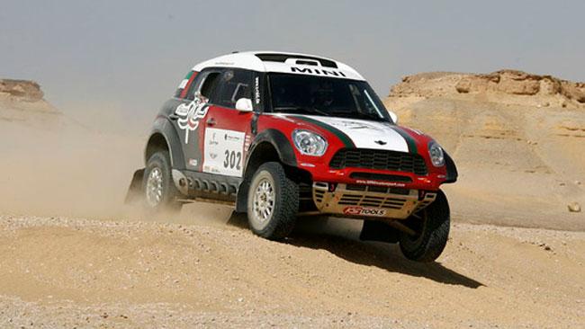 Pharaons Rally: Al-Mutawei e la Mini partono bene