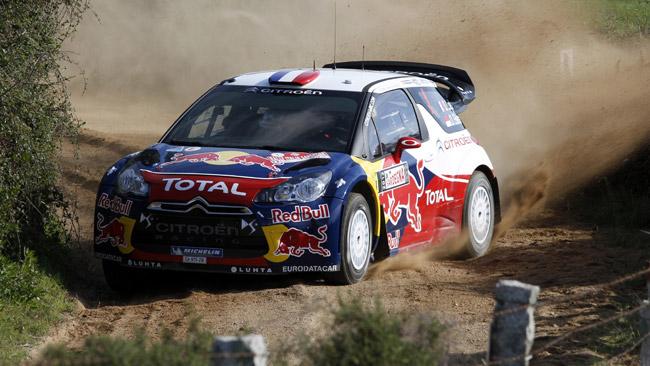Italia, PS1: Loeb si porta subito al comando