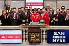 Fernando Alonso suona la campana a Wall Street