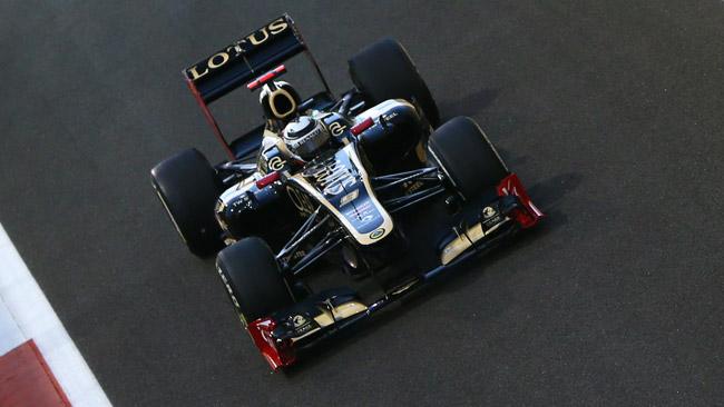 Coca Cola sponsor della Lotus con il marchio Burn
