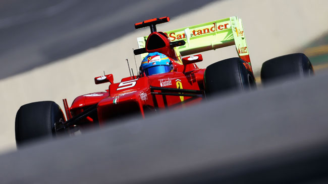 Ferrari 2013: come stallare l'ala posteriore?