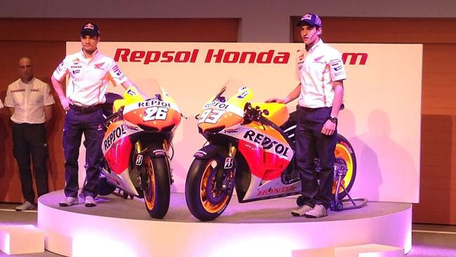 Ecco la nuova colorazione delle Honda ufficiali