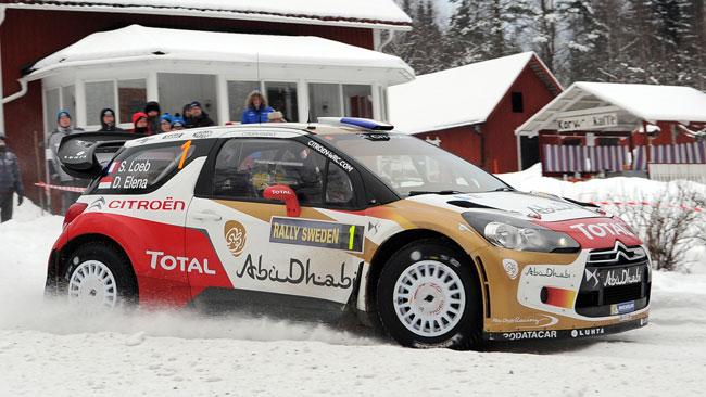 Svezia, PS17: Loeb prova a ripartire a razzo