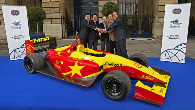 Arriva dalla Cina la seconda vettura di Formula E