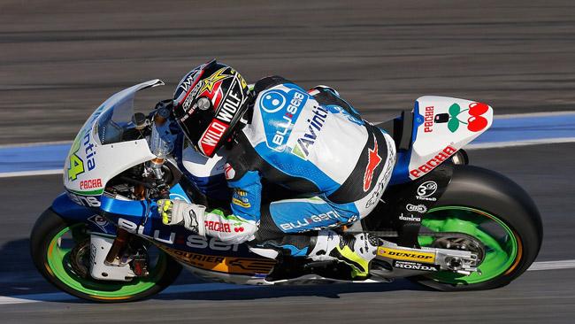 Jerez, Day 1: Elias guida un sestetto di Kalex