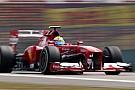 Shanghai, Libere 2: Massa porta davanti la Ferrari
