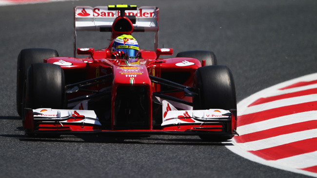Barcellona, Libere 3: Massa tiene in vetta la Ferrari