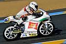 Romano Fenati primo dei piloti Honda a Le Mans