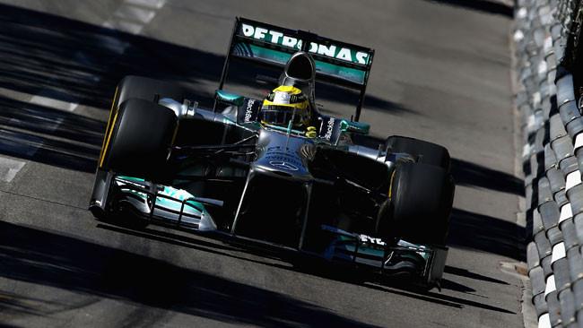 Montecarlo, Libere 2: Rosberg lancia le due Mercedes