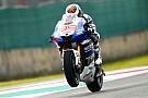 Jorge Lorenzo si gode l'ottima Yamaha di oggi
