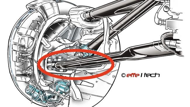 Lotus con la sospensione anteriore irregolare?