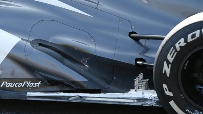 La Sauber sta provando gli scarichi a rampa