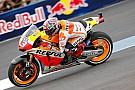 Indianapolis, Libere 2: Marquez nella tripletta Honda