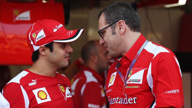 Felipe Massa in cima alla lista di Domenicali