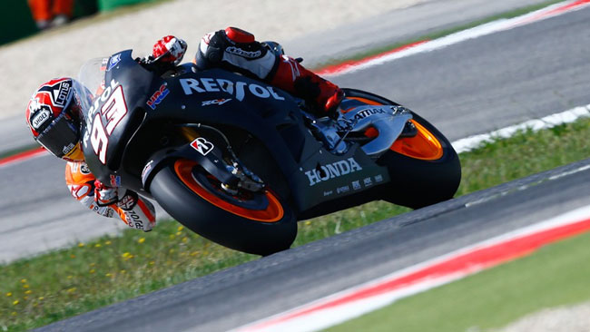 Test Misano: Marquez chiude davanti alle Yamaha