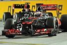 Jenson Button vede sfumare il podio negli ultimi giri