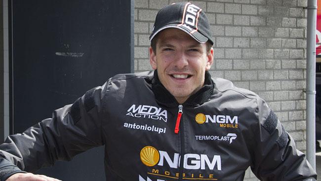 Claudio Corti pilota ufficiale MV Agusta in SBK