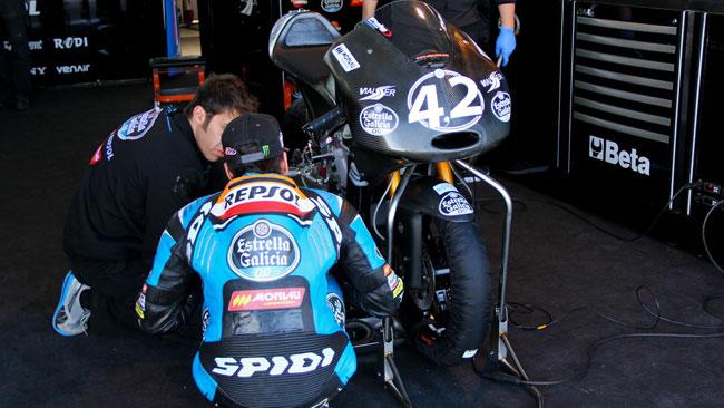 La nuova Honda Moto3 in pista ad Almeria