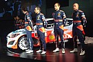 La Hyundai svela la i20 WRC e la sua squadra 2014