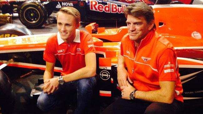 La Marussia ufficializza la conferma di Max Chilton